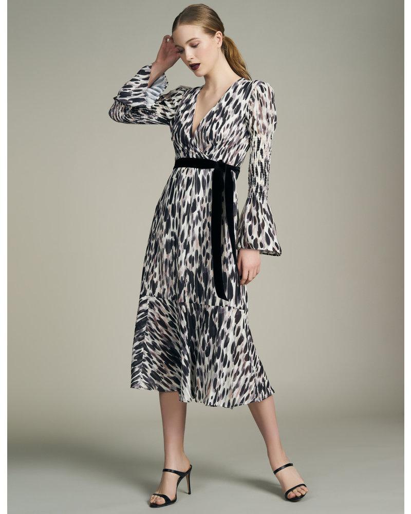 Hutch Esme Hi Lo Wrap Dress