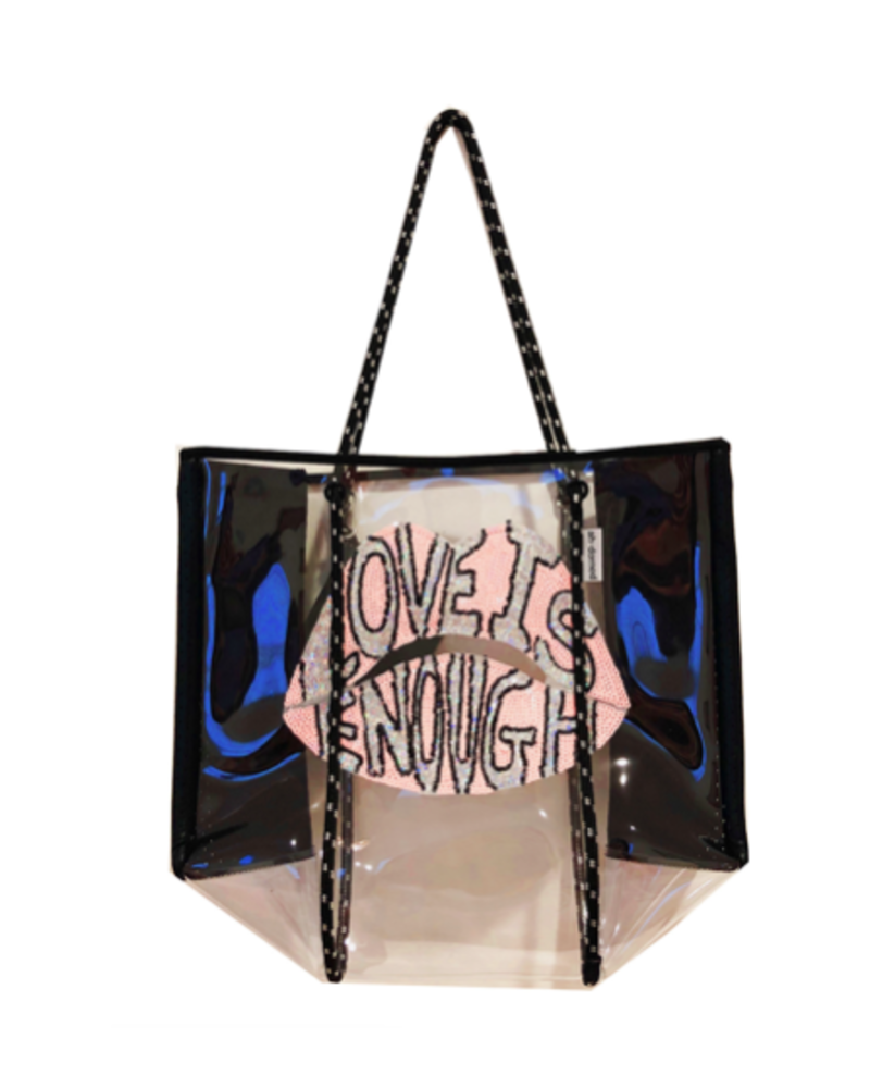 Ahdorned Love is Enough Tote