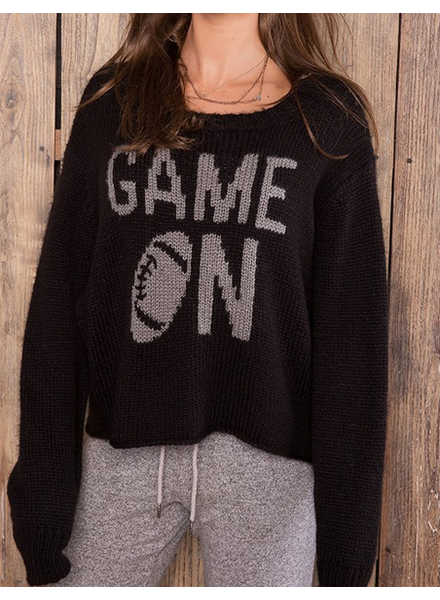 Wooden Ships Game On Crew Chunky Pullover