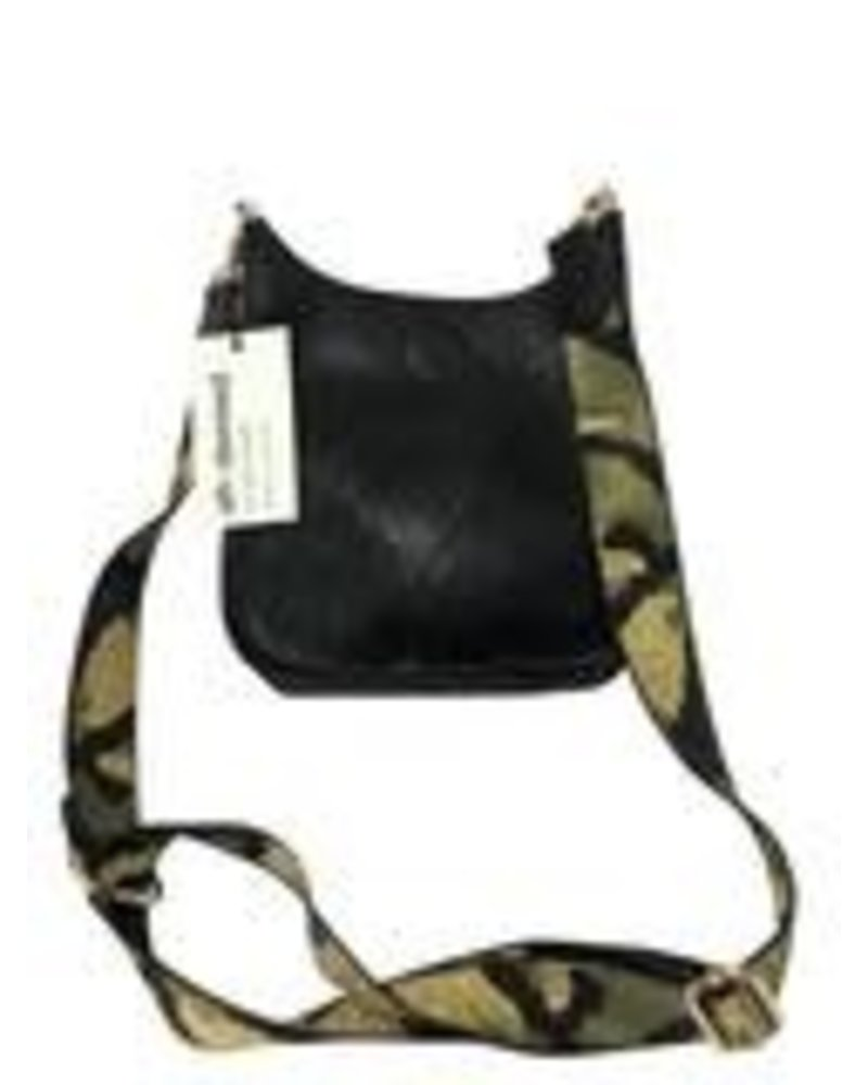 Ahdorned Mini Messenger Bag w/ Guitar Strap