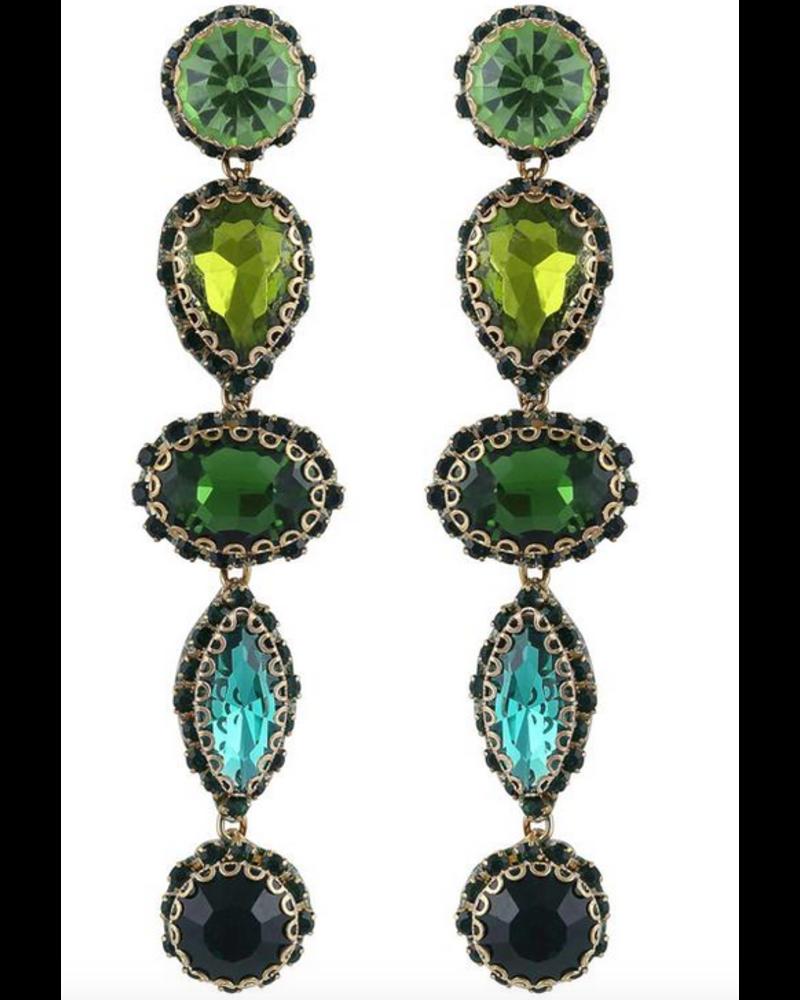 Deepa Gurnani DeDe Earrings