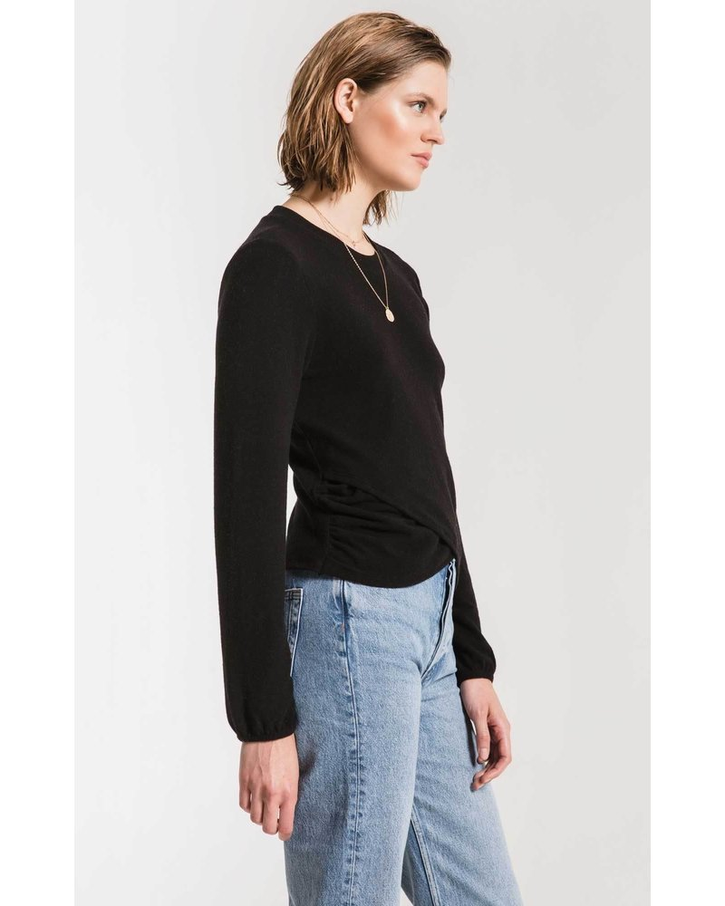 Z Supply The Soft Spun Rouched Top