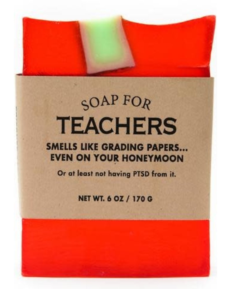 Whiskey River Soap Co Teachers Soap