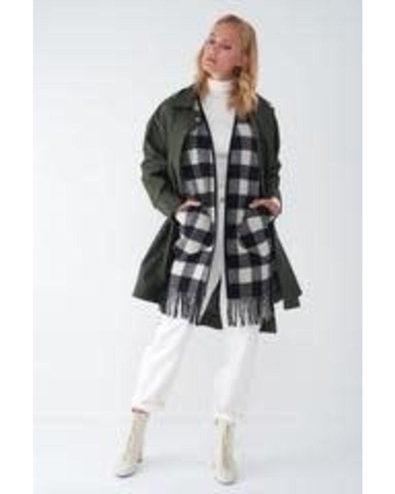 Sosken Jay 2-in-1 Raincoat Forest Green Size 2