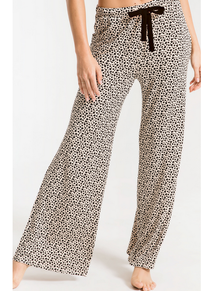 Z Supply Mini Heart Wide Leg Pant