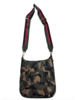 Ahdorned Army Camo Nylon Messenger w/Stripe Adjustable Web Strap
