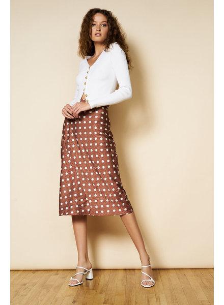 Hutch Bess Watercolor Dot Skirt