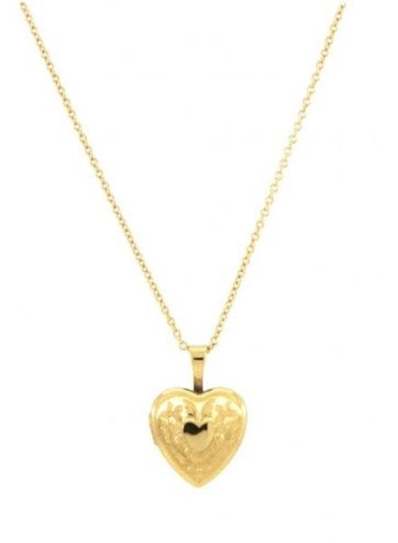 "Jūraté Lilly - 18"" Heart Locket"