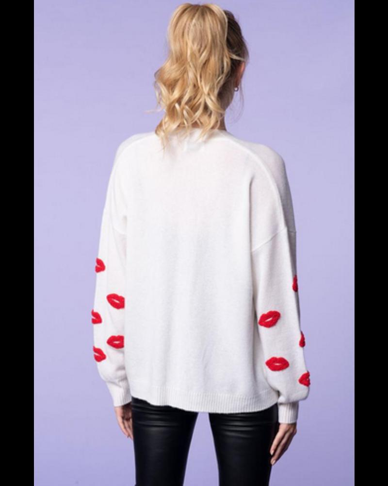 27 Miles Esme Sweater w/ Lips
