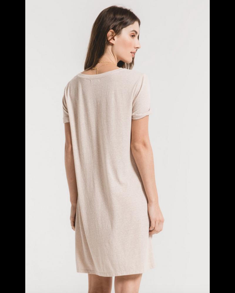 Z Supply The Triblend Side Knot Dress