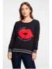 Chaser French Lip Crewneck