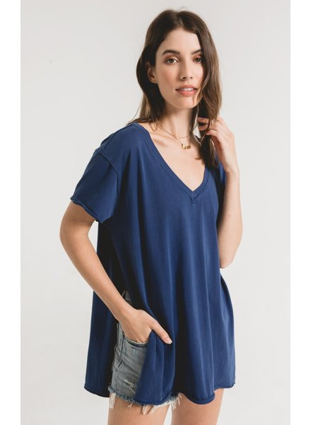 Z Supply The Organic Cotton Side Slit Tunic