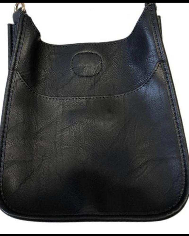 Ahdorned Mix and Match Vegan Leather Mini Messenger Bag (No Strap)