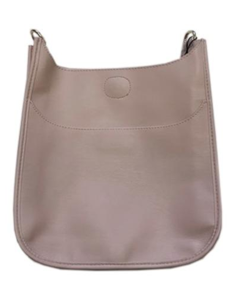 Ahdorned Mix and Match Vegan Leather Messenger Bag (No Strap)