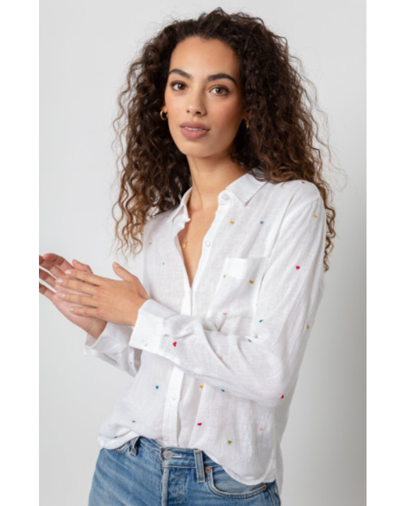 Rails Charli Button Down Blouse