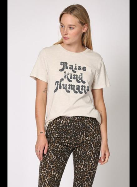 Blank Paige Raise Kind Humans Tee Shirt