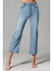 by-together Highwaisted Cut Straight Wide Leg Jean