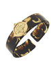 Susan Shaw Gold Bee on Tortoise Cuff 2961