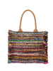 Alex Max Large Woven Shoulder Tote