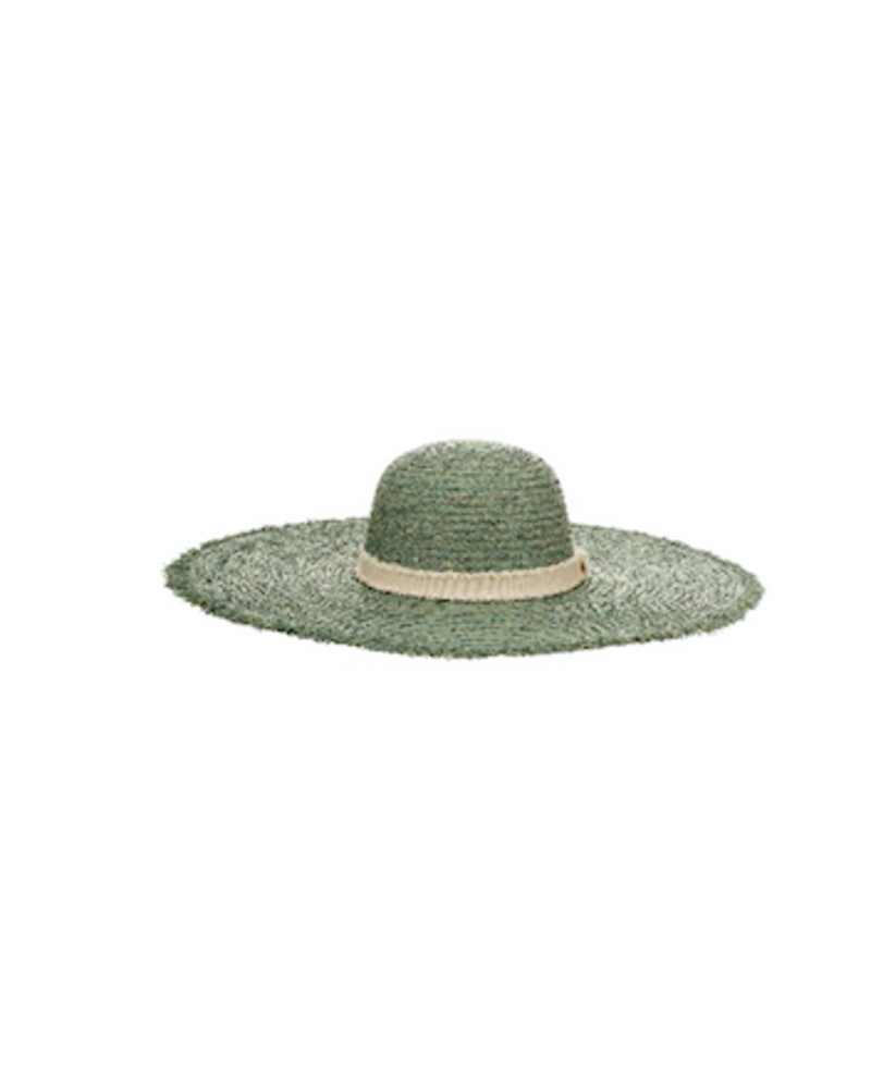 Alex Max Oversized Straw Hat with Band