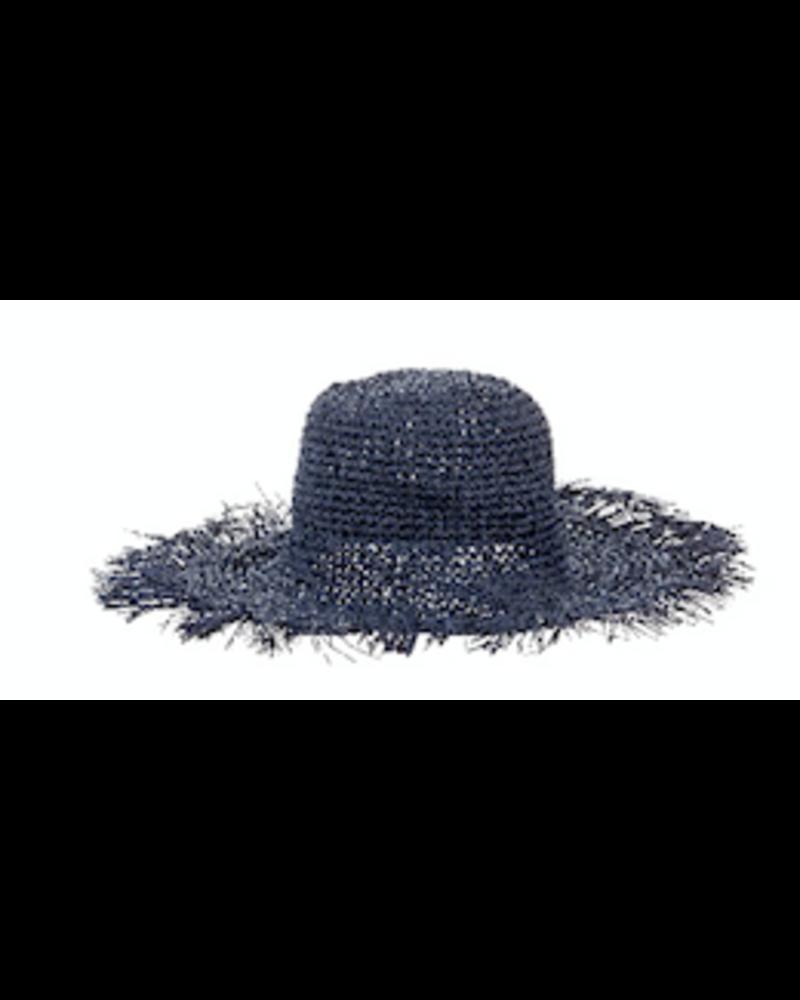 Alex Max Oversized Straw Hat with Fringe