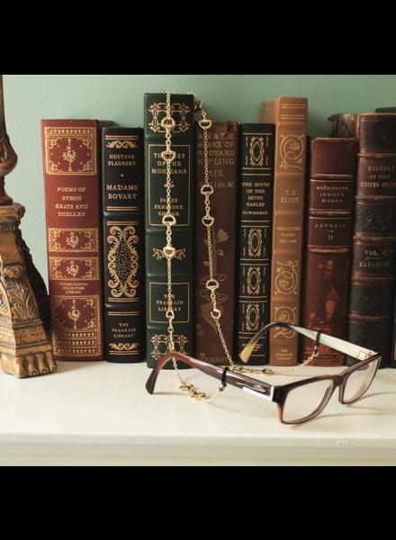 Fornash Horsebit Eyeglass Chain