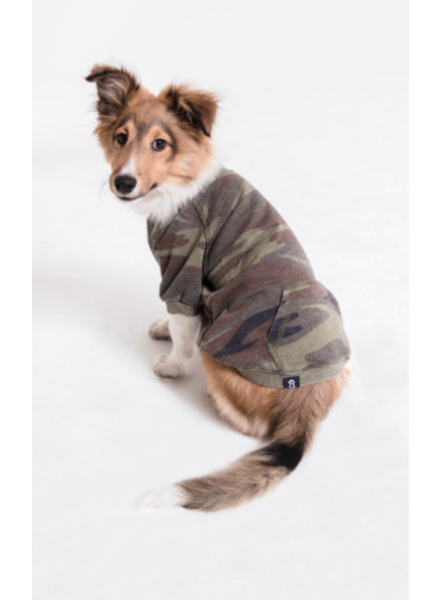 Zoo Supply The Burnout Camo Pullover