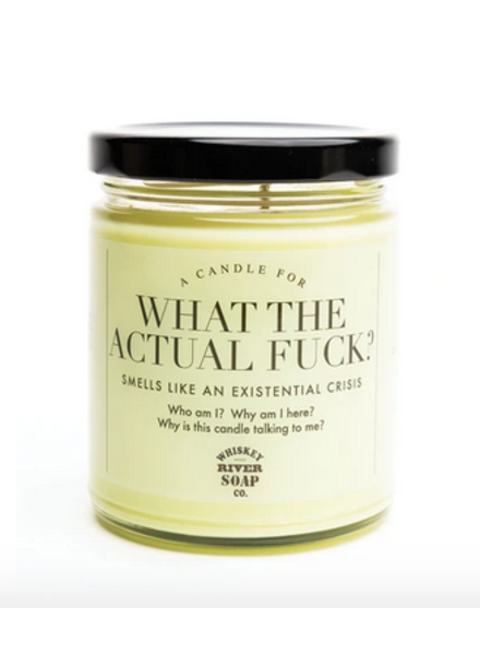 Whiskey River Soap Co What The Actual Fuck Candle