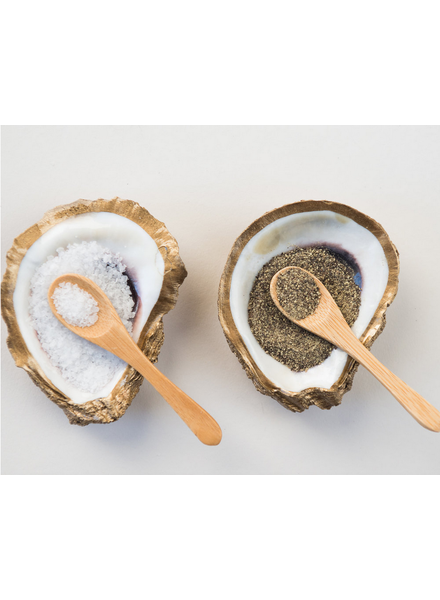Grit & Grace Studio Salt & Pepper Set Oyster