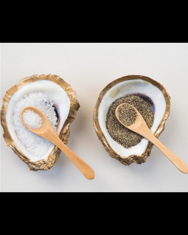 Grit & Grace Studio Salt & Pepper Set Oyster