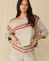 by-together Boat Neck Knit Sweater