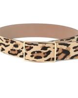 B-low the Belt Milla Waist Leopard Calf Hair