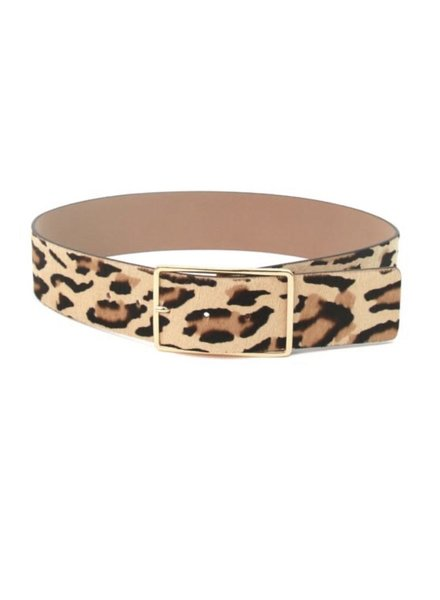 B-low the Belt Milla Waist Leopard Calf Hair