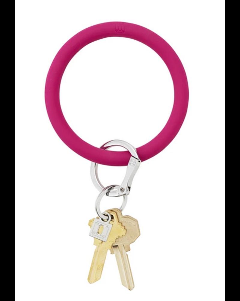 O Venture Big O Silicone Key Ring- Solid