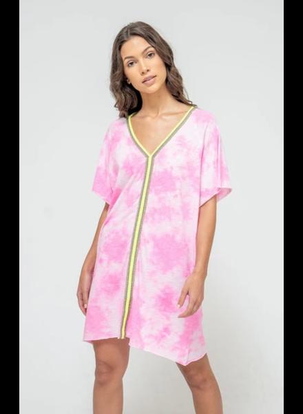 Pitusa Tie Dye Mini Abaya