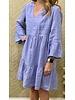 Velvet by Graham and Spencer Aurora Woven Linen Tiered Dress