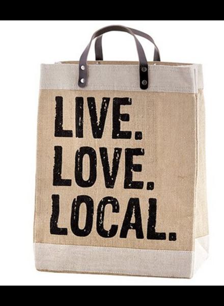 Santa Barbara design Market Tote Live Love Local