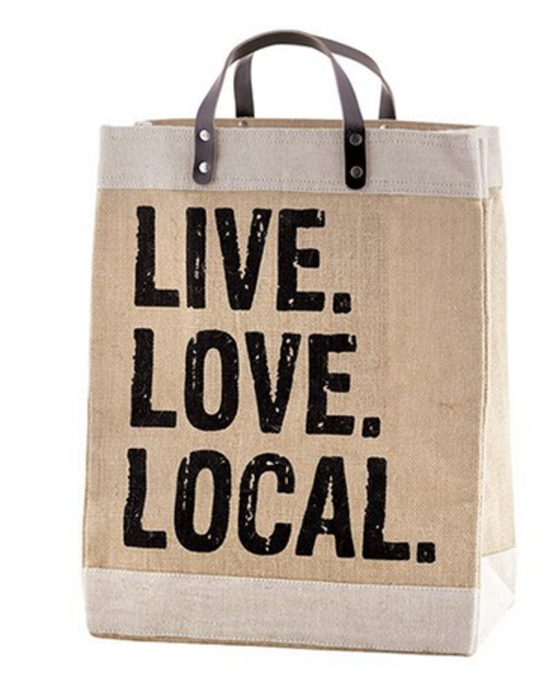 Santa Barbara design Market Tote Live Love Local
