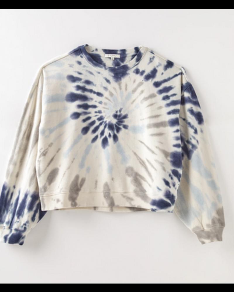 Z Supply The Multi Color Tie-Dye Pullover