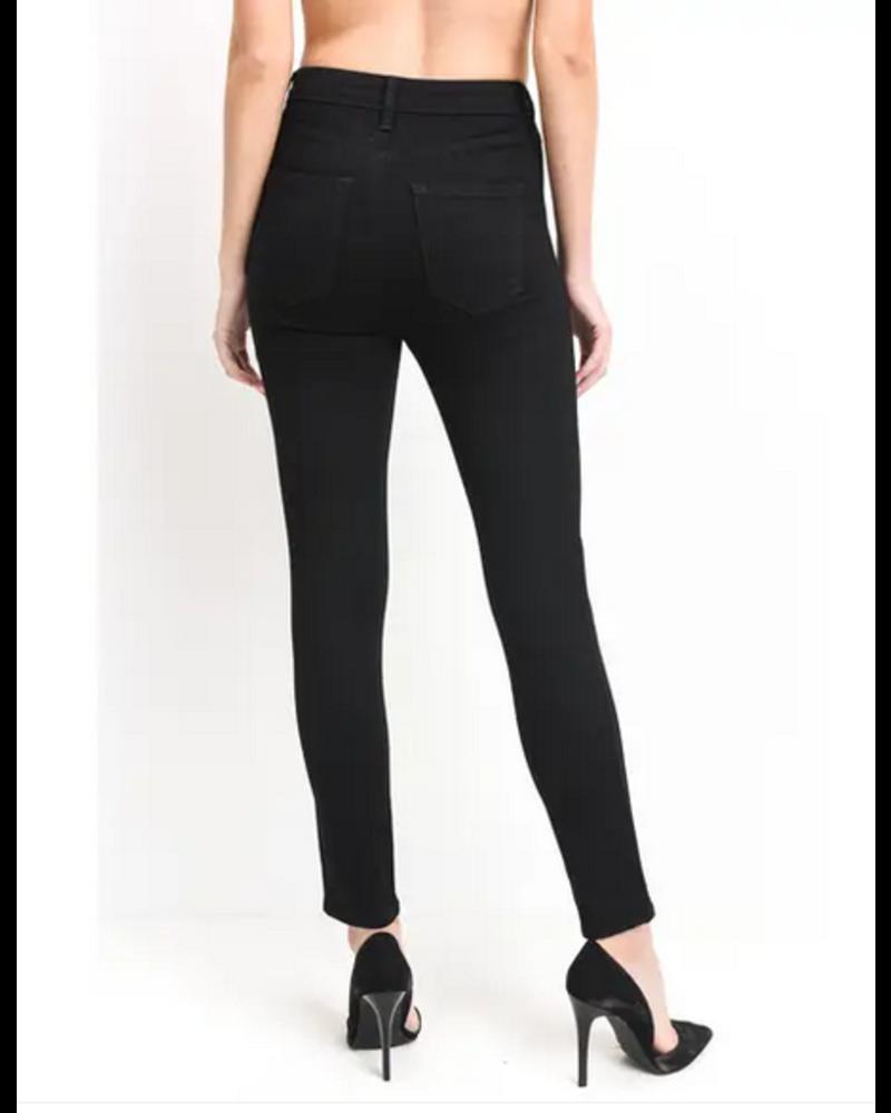 Just Black Denim Highrise Crop Skinny Jean