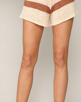 by-together Highwaisted Striped Shorts With Drawstring