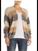 Elan Stripe Cardigan Sweater