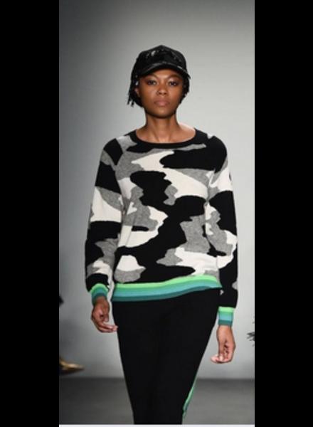 Brodie Kelly Camo Sweater