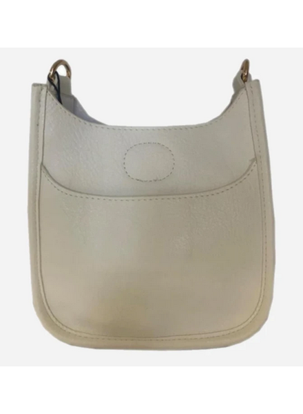 Ahdorned Petite Vegan Messenger Bag - No Strap