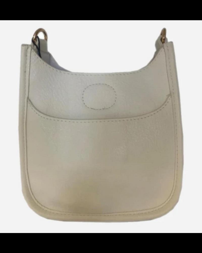 Ahdorned Petite Vegan Messenger Bag - No Strap