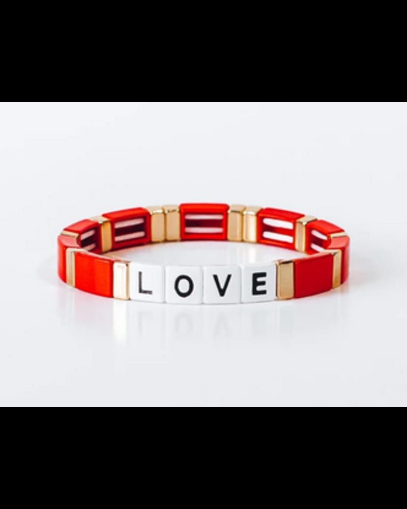 Ryan Porter Block Bracelet