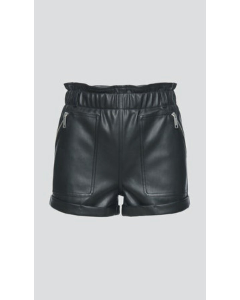 BlankNYC Maleficient Vegan Leather Shorts