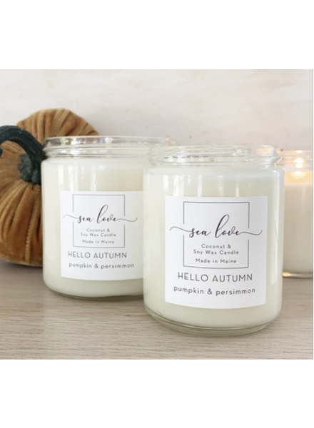 Sea Love Candles & Company Hello Autumn Candle