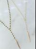 Alv Jewels Spike Drop Necklace