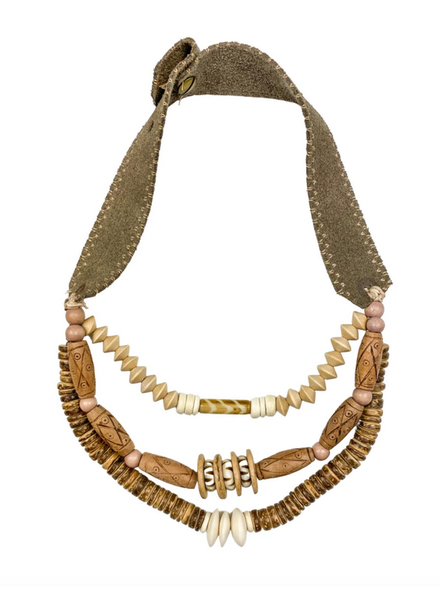 Twine & Twig Layered Classic Necklace - Woods